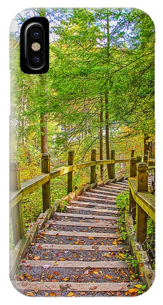 Pathway To The Falls  Phone Case by SCB Captures