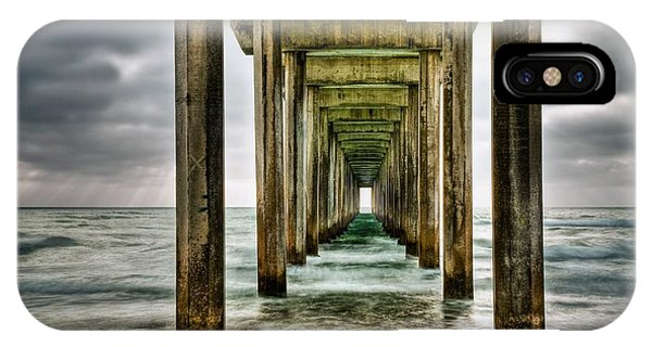 Pacific Ocean iPhone Case - Pathway To The Light by Aron Kearney