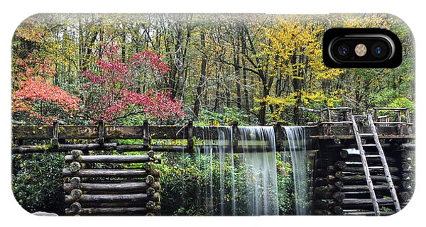 Pathway To The Mill Phone Case by Mary Anne Baker