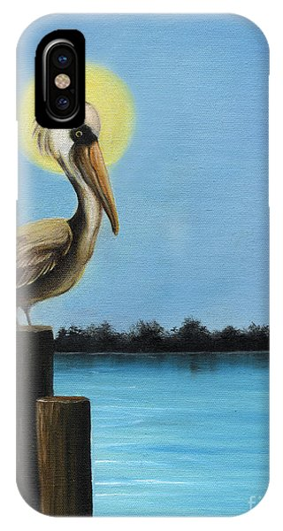 Patiently Fishing IPhone Case