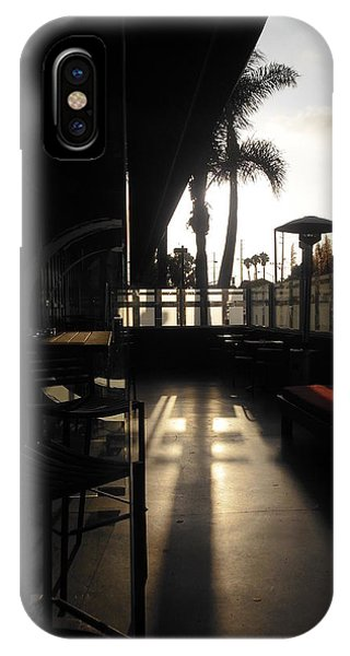 Patio Sunset Phone Case by Bruce Sommer
