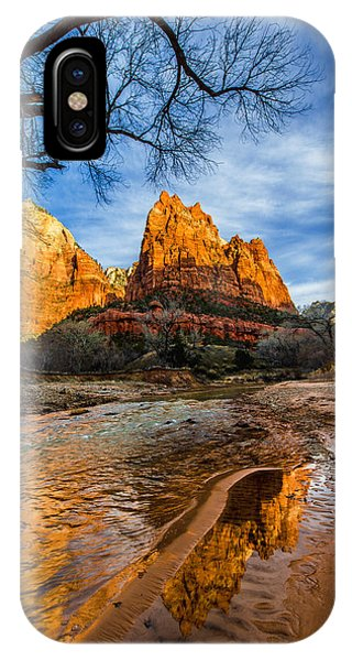 Creek iPhone Case - Patriarchs Of Zion by Chad Dutson