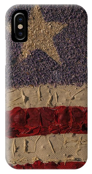 Patriotic Background Vertical IPhone Case