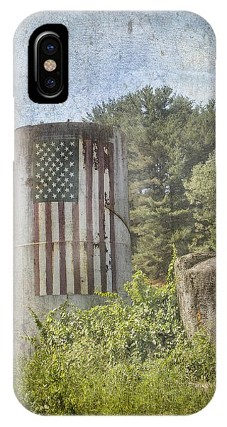 Patriotic Farm Silo IPhone Case