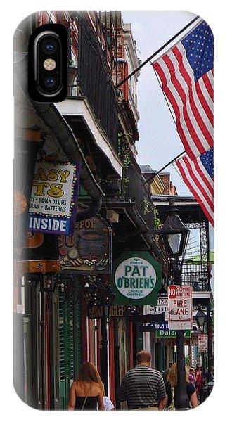 Patriotic Pat Obriens IPhone Case