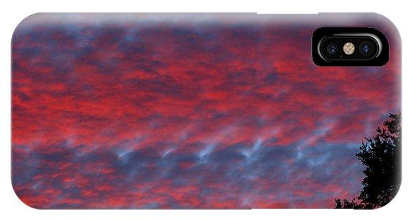 Patriotic Sky At Sunset IPhone Case