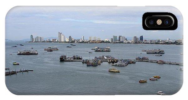 City Scape iPhone Case - Pattaya by Michael Kim