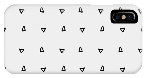 Pattern Minimalist Background Triangle Phone Case by Kbibibi