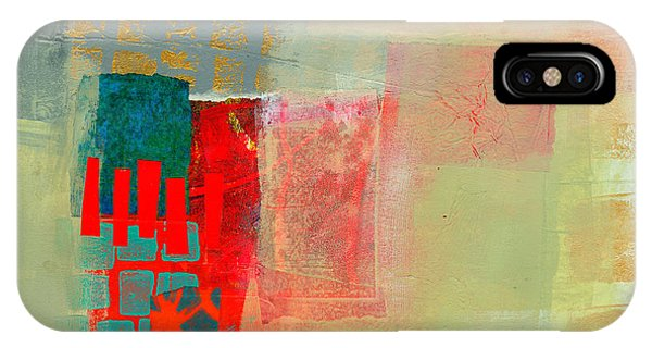 Abstract iPhone Case - Pattern Study #2 by Jane Davies