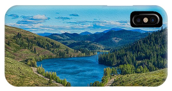 IPhone Case featuring the photograph Patterson Lake In The Summer by Omaste Witkowski