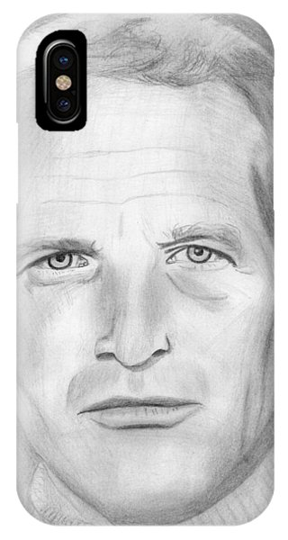 Paul Newman IPhone Case