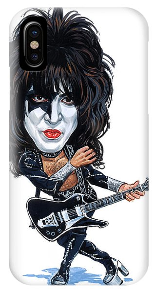Superior iPhone Case - Paul Stanley by Art