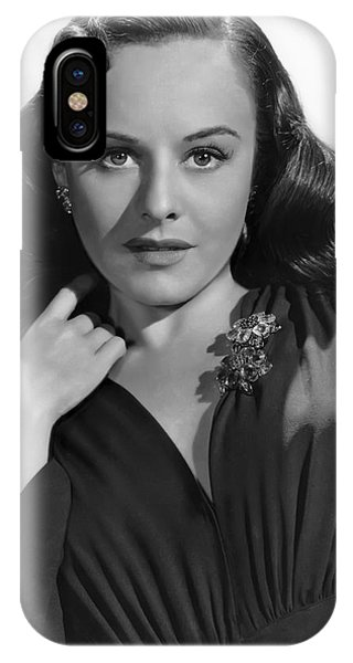Leading Actress iPhone Case - Paulette Goddard by Daniel Hagerman