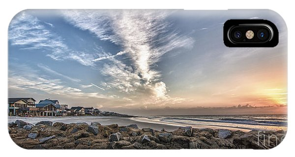 Pawleys Island Beach Sunrise IPhone Case