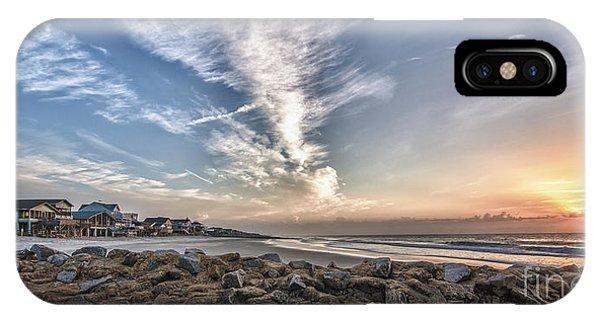 Pawleys Island Beach Sunrise IPhone Case