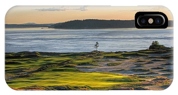 Pax - Chambers Bay Golf Course IPhone Case