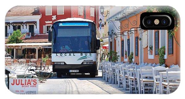 Paxos Island Bus IPhone Case