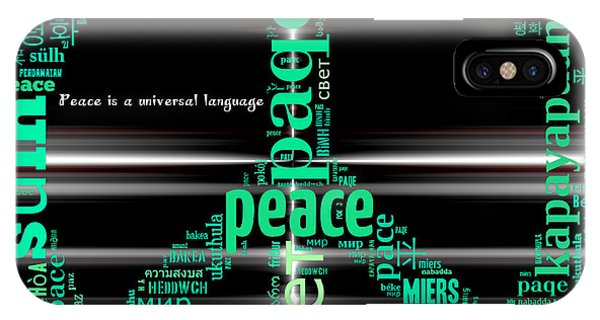 Peace Across The Universe IPhone Case