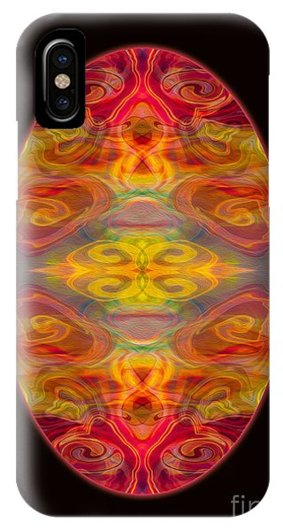 Peace And Harmony Abstract Healing Art IPhone Case