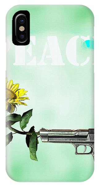 Thought iPhone Case - Peace  by Bob Orsillo