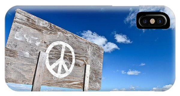 Peace iPhone Case - Peace by David Smith