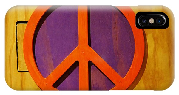 Peace Decal IPhone Case