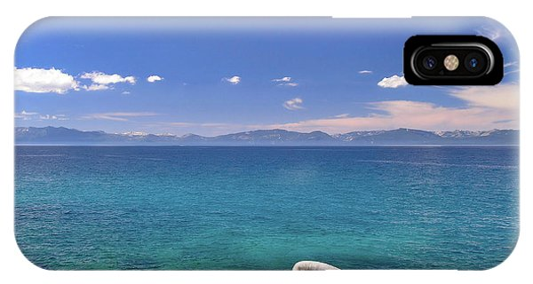 Peace - Lake Tahoe IPhone Case