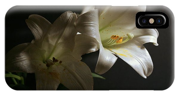 Peace Lily IPhone Case