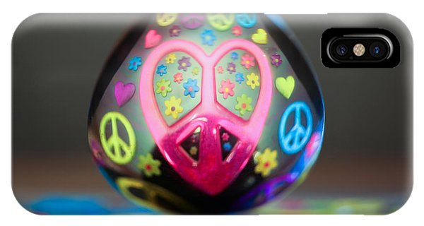 Peace Love Spoon IPhone Case
