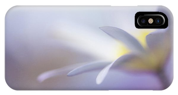 Purple iPhone Case - Peace by Penny Myles