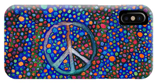 Peace Sign IPhone Case