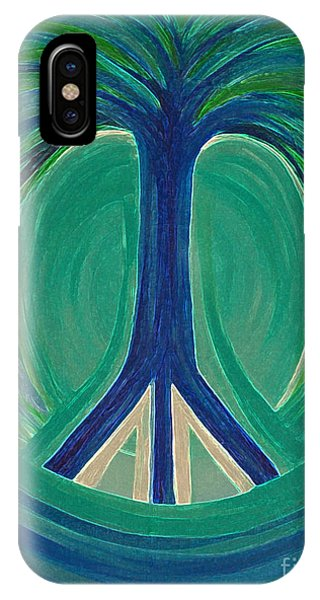 Peace Tree By Jrr IPhone Case