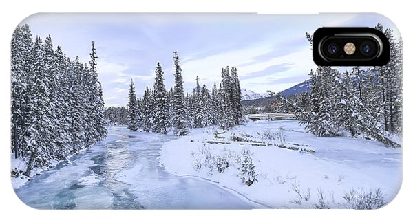 Banff iPhone Case - Peace Without End by Evelina Kremsdorf