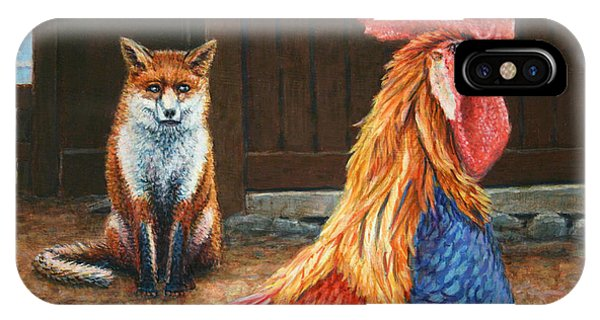 Barnyard Animals iPhone Case - Peaceful Coexistence by James W Johnson