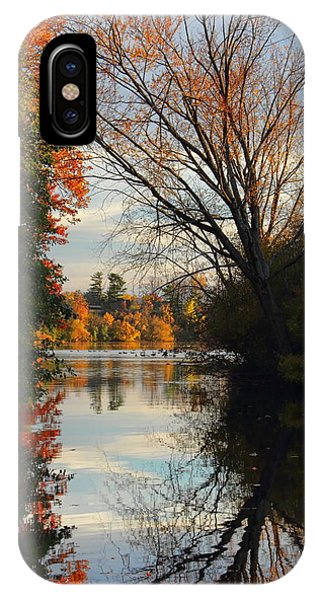 Peaceful October Afternoon IPhone Case