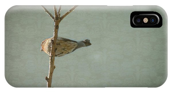 Peaceful Perch IPhone Case