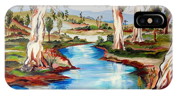 Peaceful River In The Australian Outback IPhone Case
