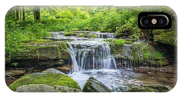 Nikon iPhone Case - Peaceful Stream by Michael Ver Sprill