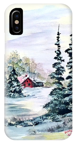 Peaceful Winter IPhone Case