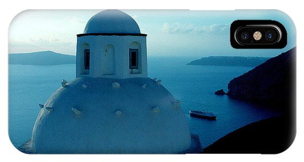 Peacefull Santorini Greek Island  IPhone Case