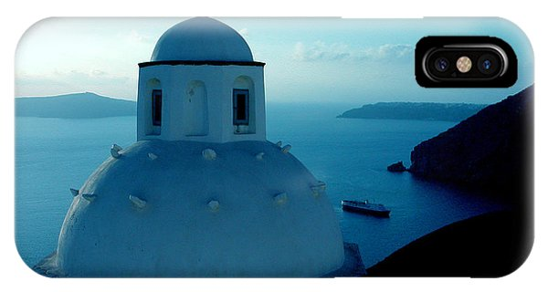 Peacefull Santorini Greek Island  IPhone Case