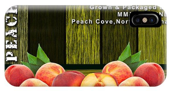 Peach iPhone Case - Peach Farm by Marvin Blaine