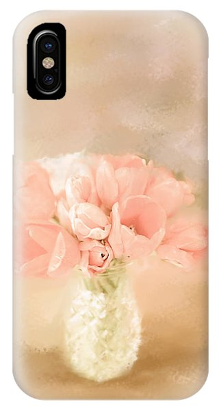 Peachy Pink IPhone Case