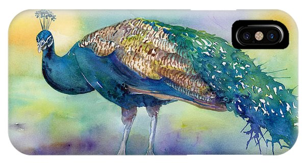 Peacock iPhone Case - Peacock by Amy Kirkpatrick