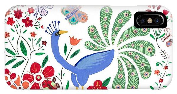 Peacock Bob IPhone Case