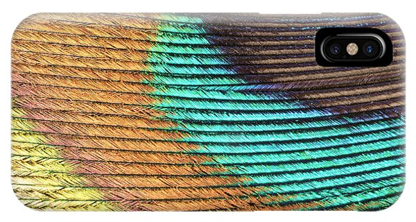 Peacock Feather Phone Case by Ted Kinsman/science Photo Library