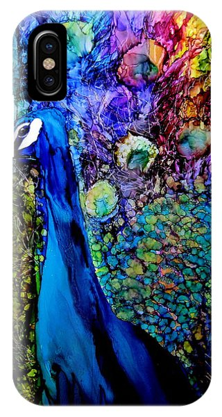 Peacock II Phone Case by Karen Walker