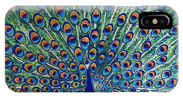 Peacock By Jasna Gopic IPhone Case
