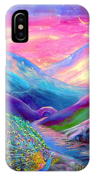 Peacocks iPhone Case - Peacock Magic by Jane Small