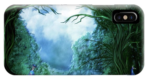 Peafowl iPhone Case - Peacock Meadow by Carol Cavalaris